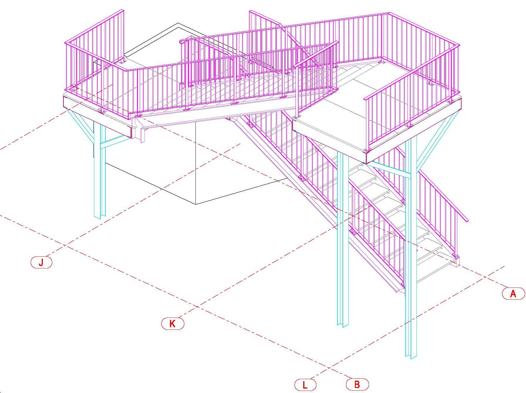 3.3.3b_Vue 3D_Escalier_IndA